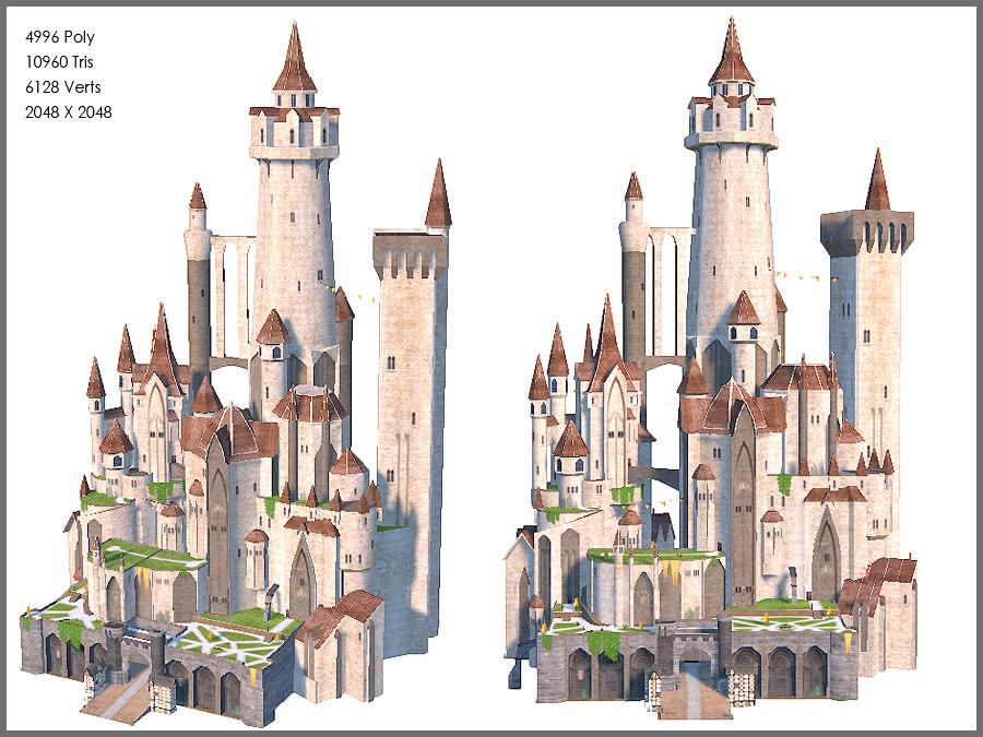 3ds max fantasy castle