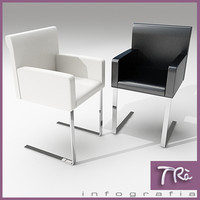 living room chairs 3d model