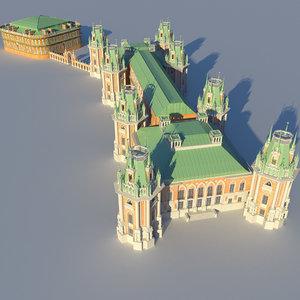 castle palace 3d model