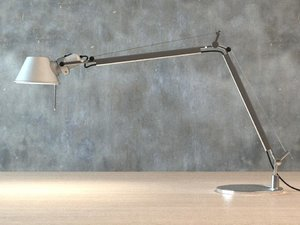 high-poly tolomeo desk lamp 3d 3ds