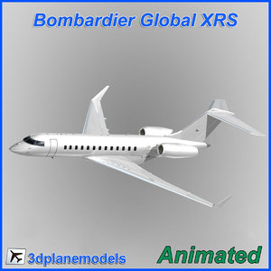 3d model bombardier global