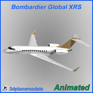 3ds max bombardier global