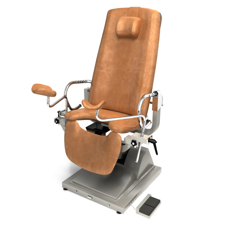 3dsmax gynecology exam chair
