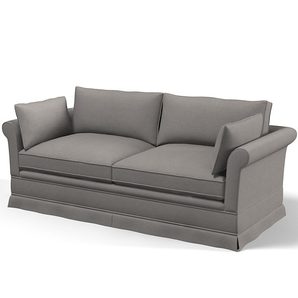 classic traditional sofa 3d model