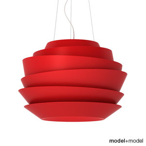 foscarini le soleil suspension 3d model