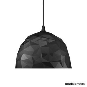3d max foscarini rock suspension lamp