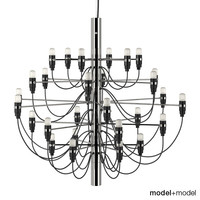 flos 2097 chandelier lamp lights max