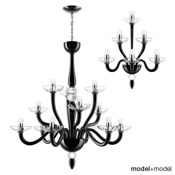 3d model suspension lamps