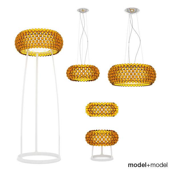 foscarini caboche table lamps 3d max
