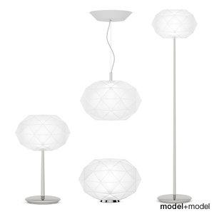 3d artemide soffione table lamps