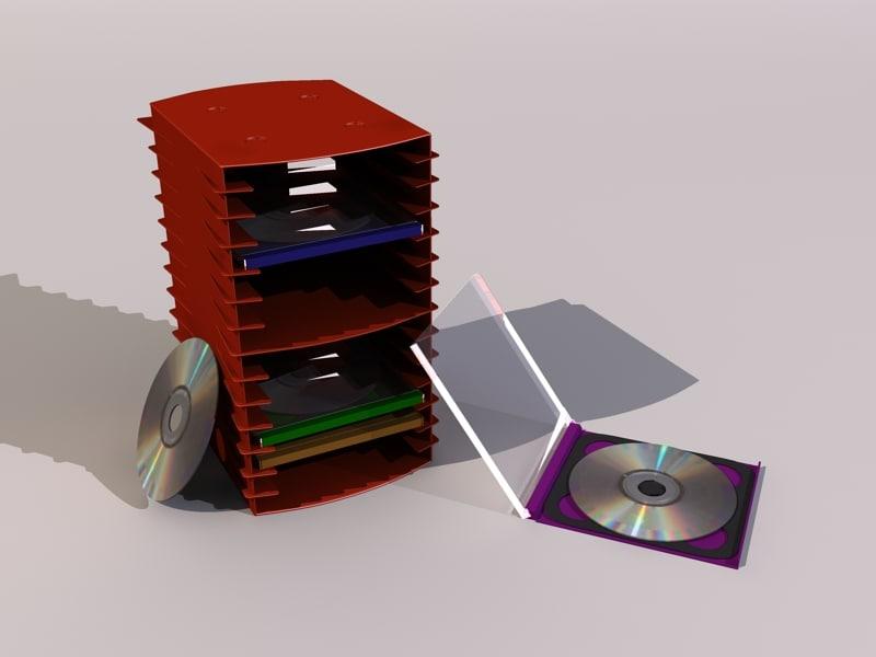 3d prop cd model