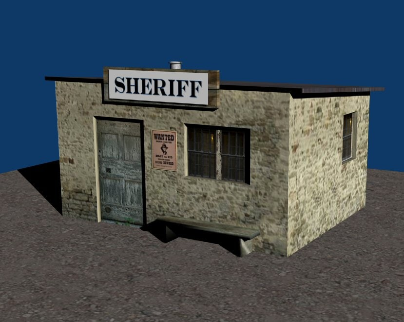 3d jailhouse jail