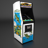 Galaxian Arcade Low Poly