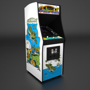 3d model 1979 arcade cabinet