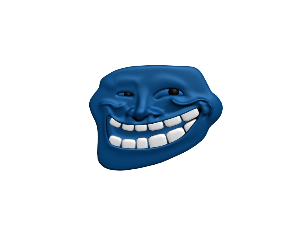 face meme 3d model