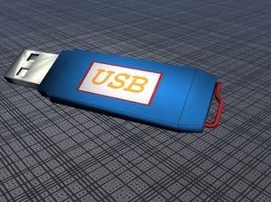 usb key storage obj free