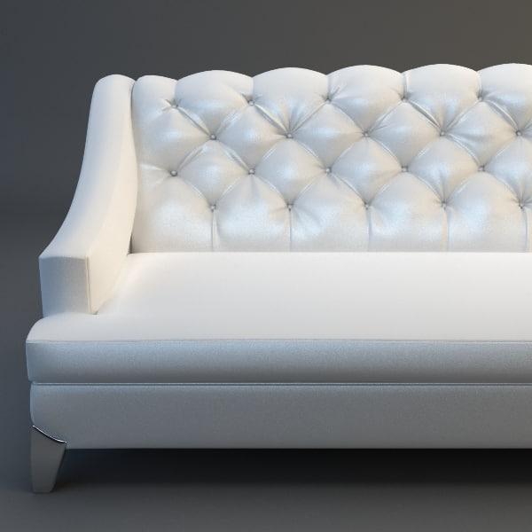 3ds max sofa details