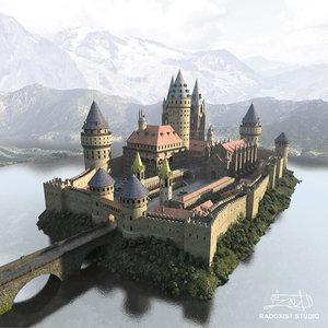 castle 360 environment obj