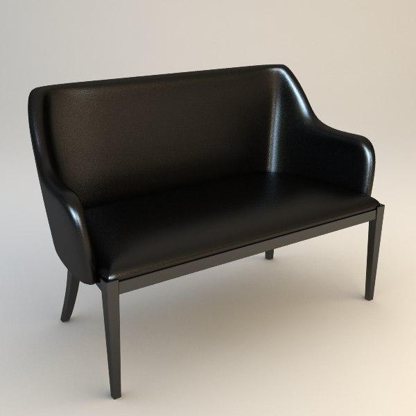 decor divanetto - small 3d model