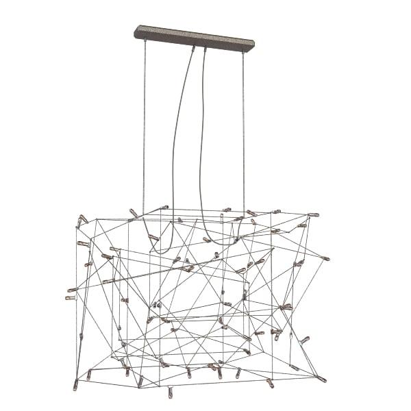 3d chandelier italian