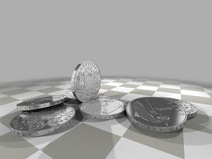 lats 1 coin 3d max
