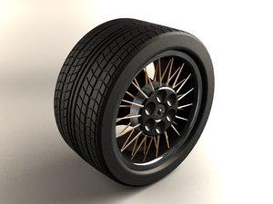3dsmax hd wheel rim