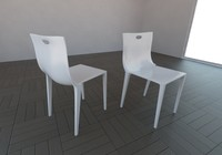 philipe starck chair 3d model