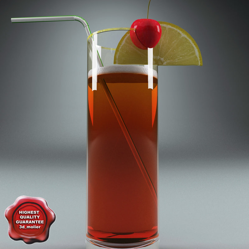 cocktail v2 3d max