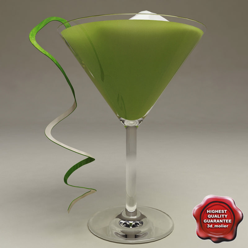 3d cocktail v7 model