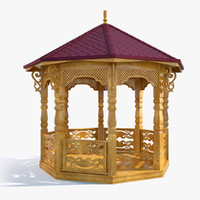 3ds max gazebo house