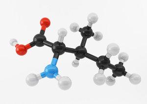 3d model of amino acids