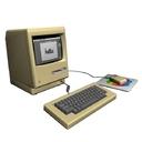 Apple Mac 128k 3D models