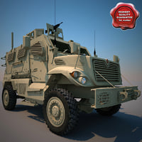 MaxxPro MRAP Armoured Fighting Vehicle V4
