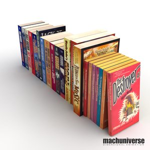paperback books 3d lwo