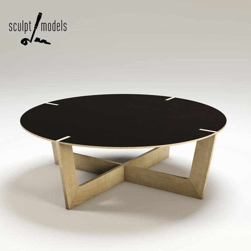 plane easy coffee table obj free