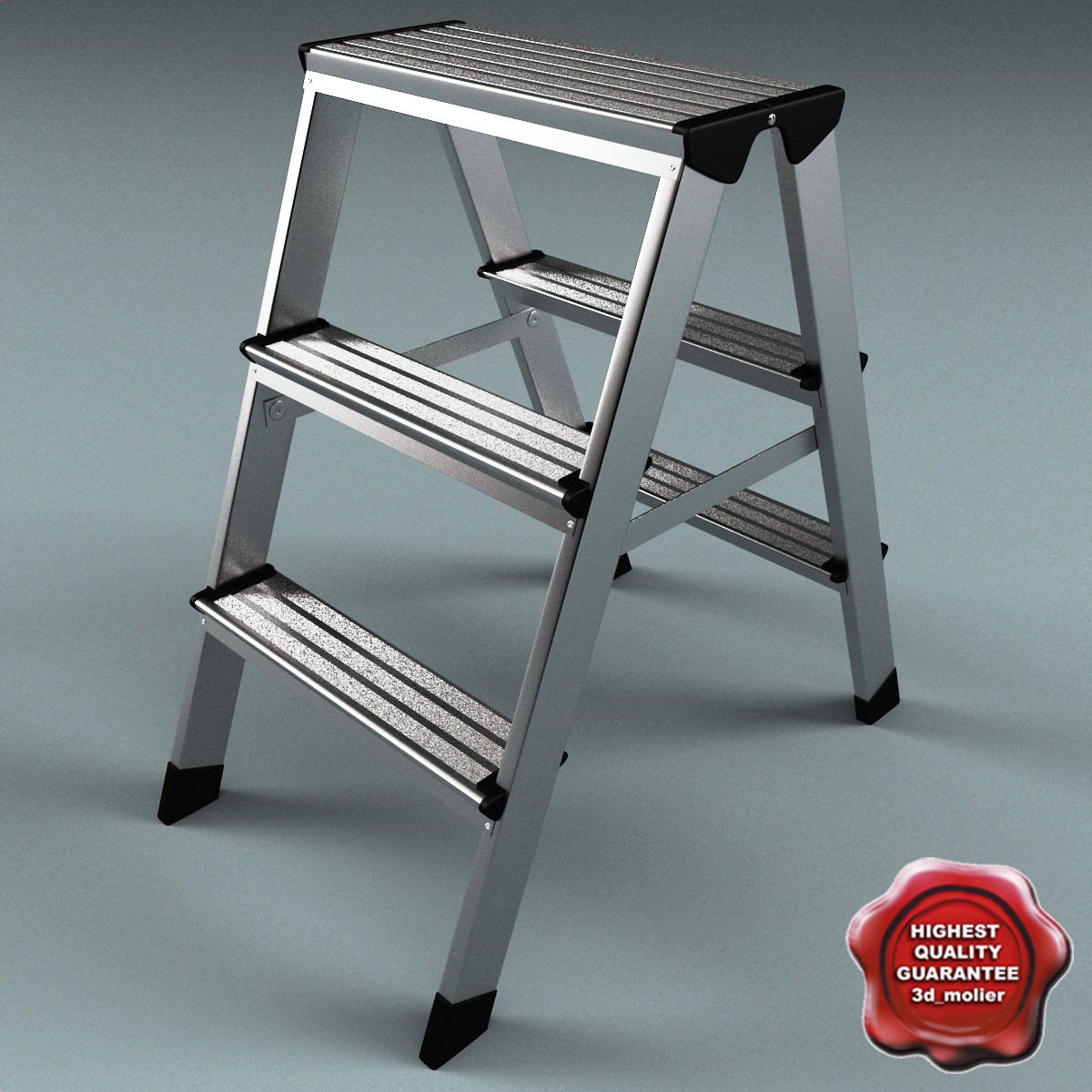 3ds max step ladder