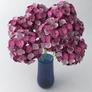 3ds bouquet materials