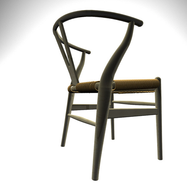 maya ch24 wegner chair wishbone
