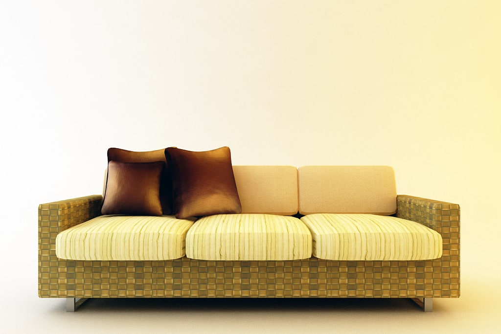 3dsmax couch sofa