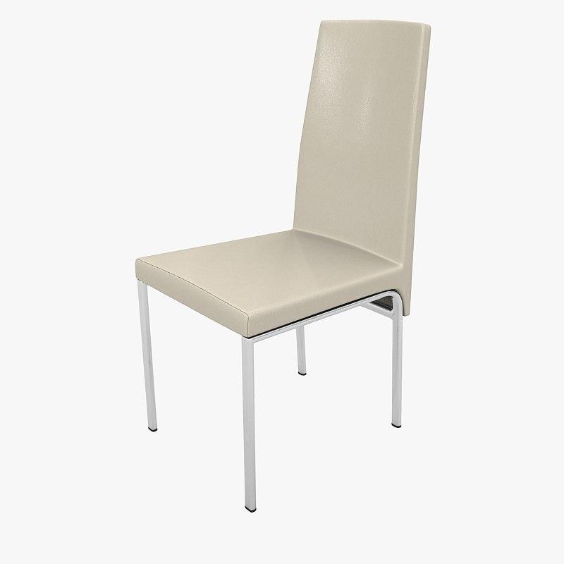 3d furn chair kika olivia