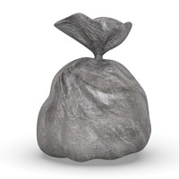 3ds max garbage bag