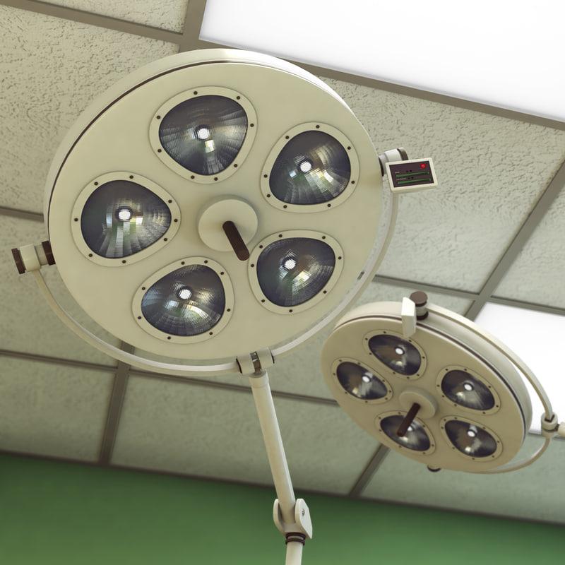 3d model surgical light