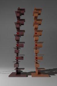 3d model taliesin floor lamps yamagiwa