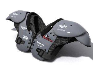 football pads 3d model