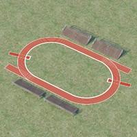 3d running track