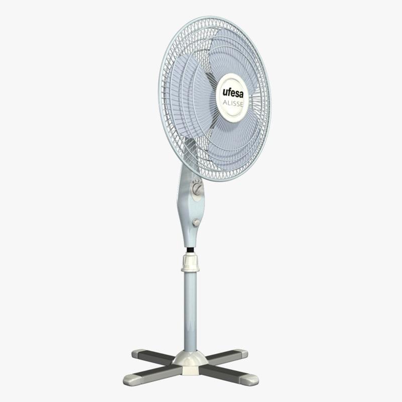 ufesa fan 3d model