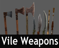 Vile Weapons Pack