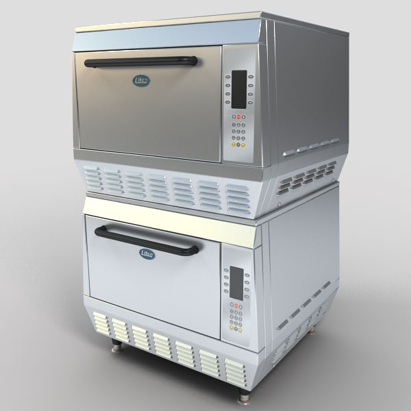 Restaurant Kitchen 3d Model 3d model restaurant kitchen equipment appliances