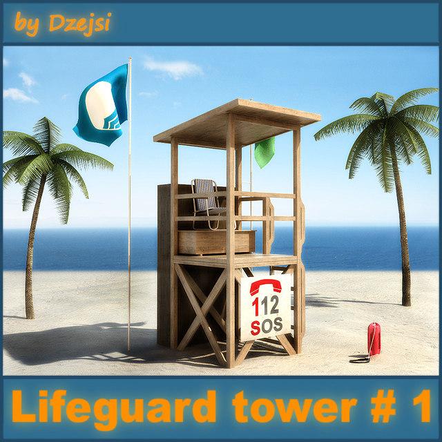lifeguard tower max