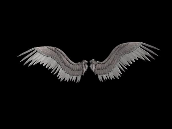 wings daniel polyakov 3d max